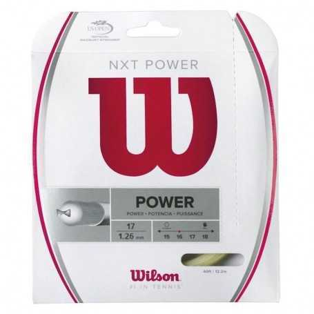 Wilson NXT Power Set 12,20m 1,26mm natural Besaitungsset