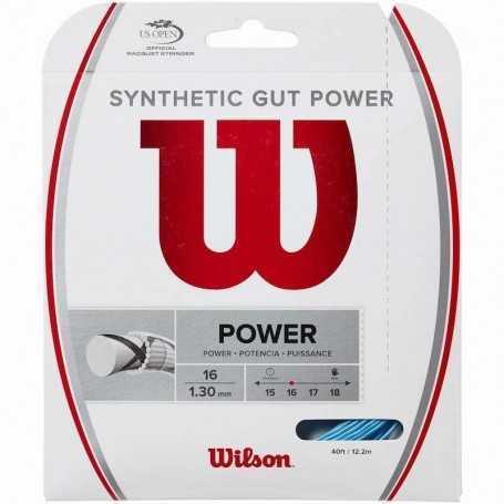 Wilson Synthetic Gut Power Set 12,20m 1,30mm blau Besaitungsset