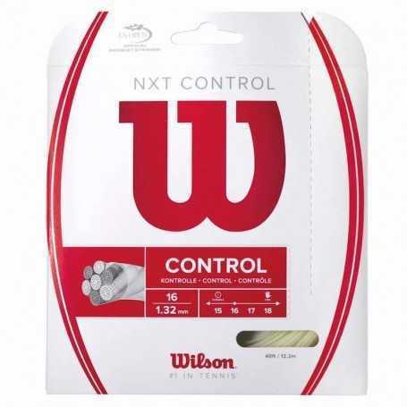 Wilson NXT Control Set 12,20m 1,32mm natural Besaitungsset