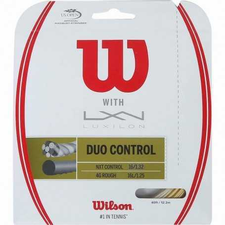 Wilson DUO Control Set 12,20m 1.25 & 1.32 gold-natural Besaitungsset