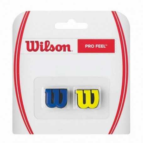 Wilson Pro Feel Dämpfer blau-gelb