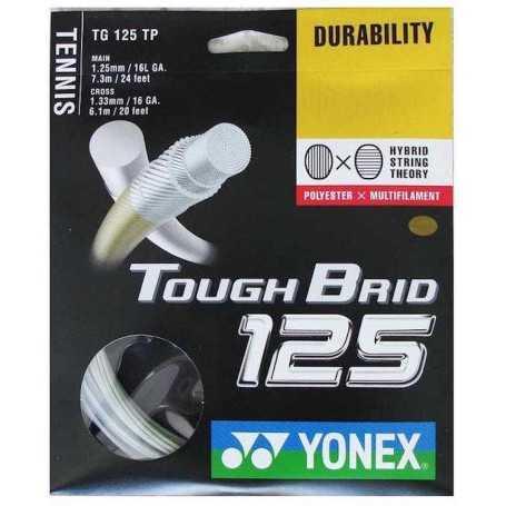 Yonex Tough Brid Set 12,00m 1,25 & 1.33 weiss Besaitungsset
