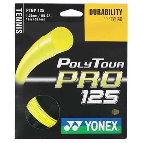 Yonex Poly Tour Pro Set 12,00m 1,25mm gelb Besaitungsset