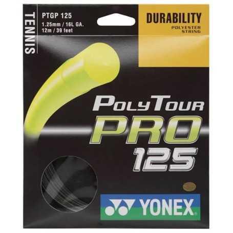 Yonex Poly Tour Pro Set 12,00m 1,25mm graphite Besaitungsset
