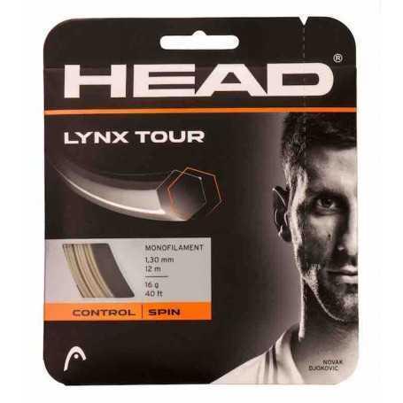 Head Lynx Tour Set 12,00m 1,25mm champagne Besaitungsset
