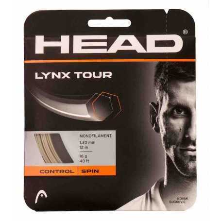 Head Lynx Tour Set 12,00m 1,30mm champagne Besaitungsset