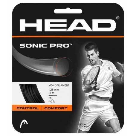 Head Sonic Pro Set 12,00m 1,25mm schwarz Besaitungsset