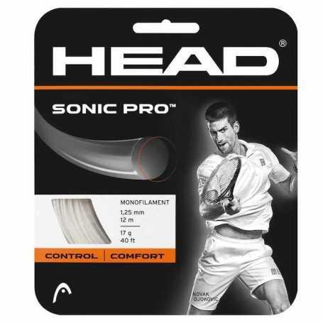 Head Sonic Pro Set 12,00m 1,30mm weiss Besaitungsset