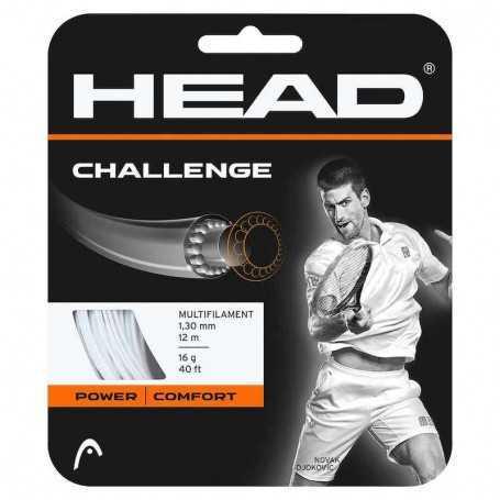 Head Challange Set 12,00m 1,25mm weiss Besaitungsset