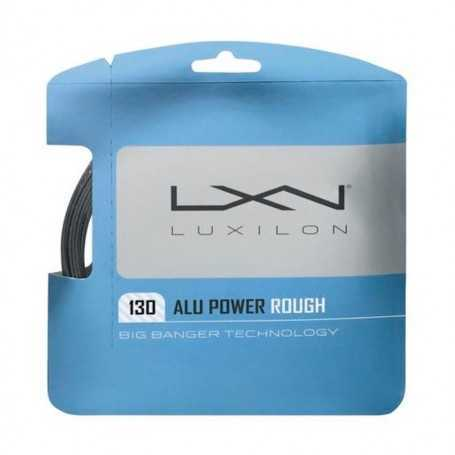 Luxilon Alu Power Rough Set 12,00m 1,30mm silber Besaitungsset