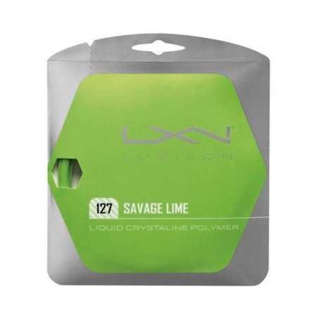 Luxilon Savage Set 12,00m 1,27mm lime Besaitungsset