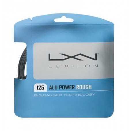 Luxilon Alu Power Rough Set 12,00m 1,25mm silber Besaitungsset