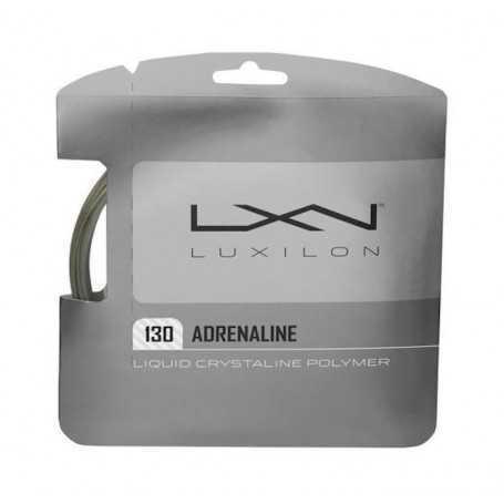 Luxilon Adrenaline Set 12,00m 1,30mm grau Besaitungsset