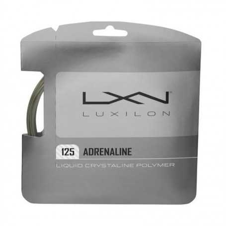 Luxilon Adrenaline Set 12,00m 1,25mm grau Besaitungsset