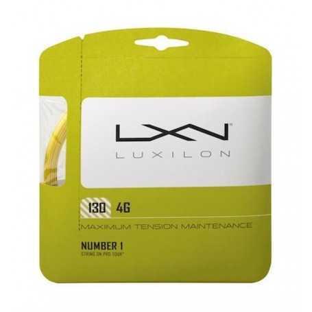 Luxilon 4G Set 12,00m 1,30mm gold Besaitungsset