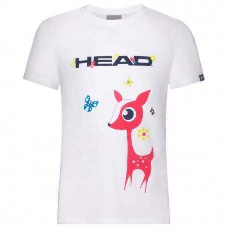 Head Vision Maria T-Shirt Girls weiss
