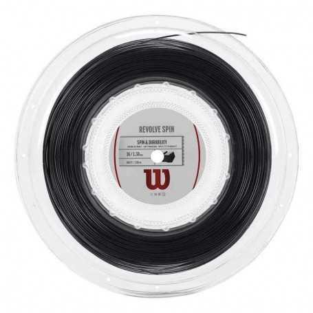 Wilson Revolve Spin Rolle 200m 1,30mm schwarz