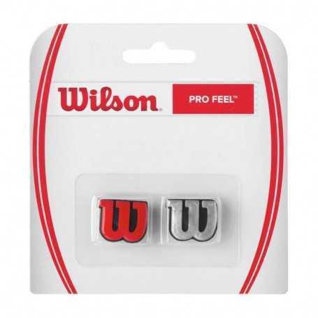 Wilson Pro Feel Dämpfer rot-silber