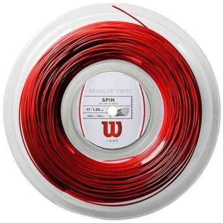 Wilson Revolve Twist Rolle 200m 1,25mm rot