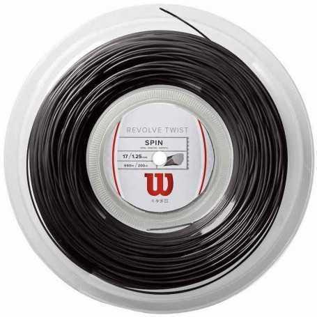 Wilson Revolve Twist Rolle 200m 1,25mm grau