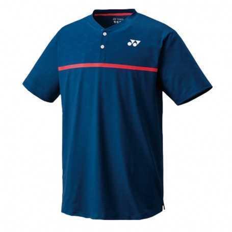 Yonex Herren Crew Neck T-Shirt dunkelblau-rot