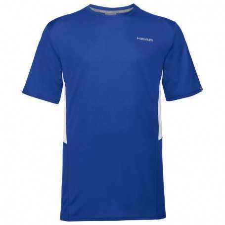 Head Club Tech T-Shirt Herren royal