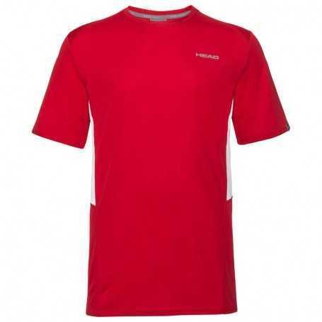 Head Club Tech T-Shirt Herren rot