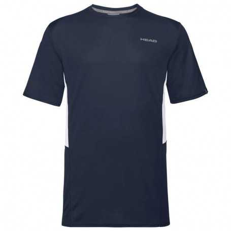 Head Club Tech T-Shirt Herren dunkelblau