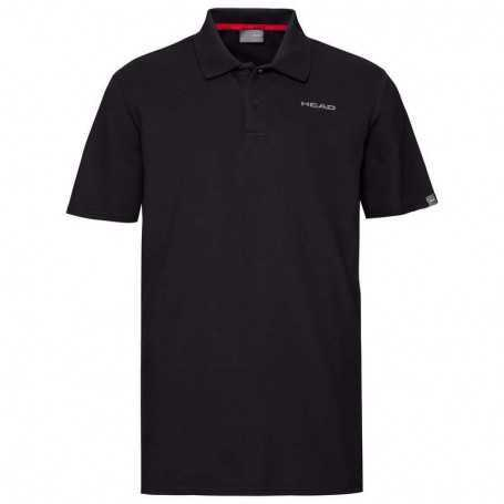 Head Club Björn Polo Shirt Herren schwarz