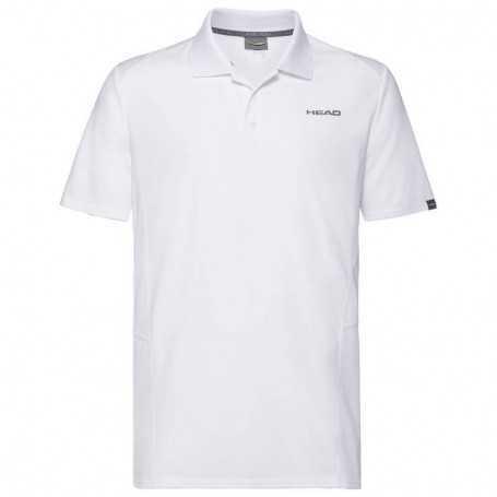 Head Club Tech Polo Shirt Herren weiss