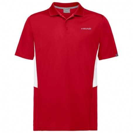 Head Club Tech Polo Shirt Herren rot
