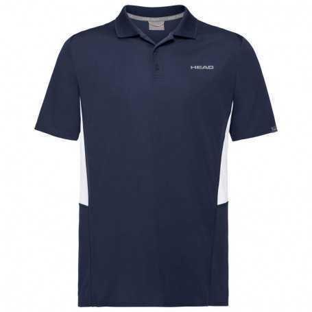 Head Club Tech Polo Shirt Herren dunkelblau