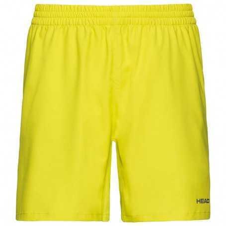 Head Club Shorts Herren gelb