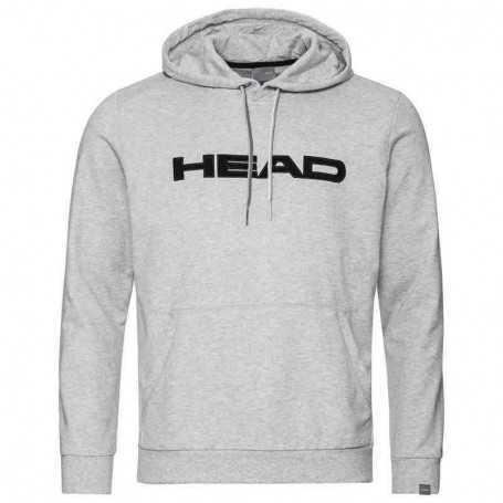 Head Club Byron Hoodie Herren hellgrau-schwarz