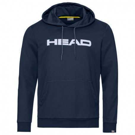 Head Club Byron Hoodie Herren dunkelblau-weiss