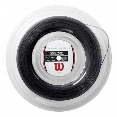 Wilson Sensation Plus Rolle 200m 1,28mm schwarz