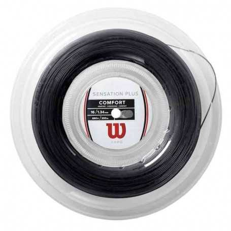 Wilson Sensation Plus Rolle 200m 1,34mm schwarz