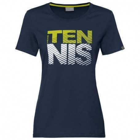 Head Club Lisa T-Shirt Damen dunkelblau