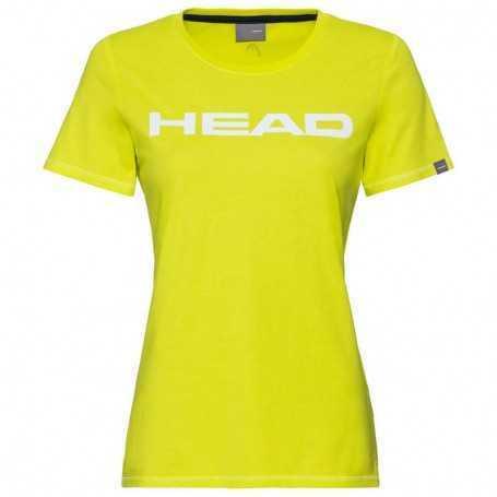 Head Club Lucy T-Shirt Damen gelb-weiss