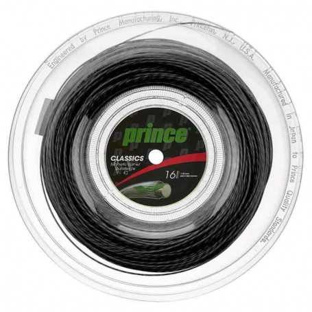 Prince Synthetic Gut Duraflex Rolle 200m 1,30mm schwarz
