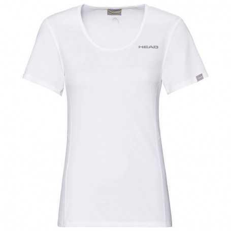 Head Club Tech T-Shirt Damen weiss