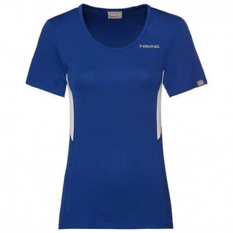 Head Club Tech T-Shirt Damen royal