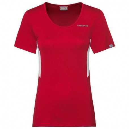 Head Club Tech T-Shirt Damen rot