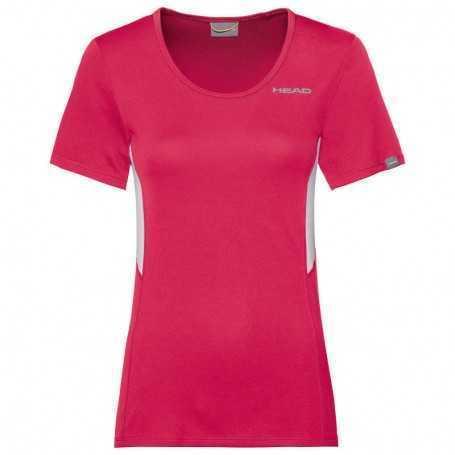 Head Club Tech T-Shirt Damen magenta