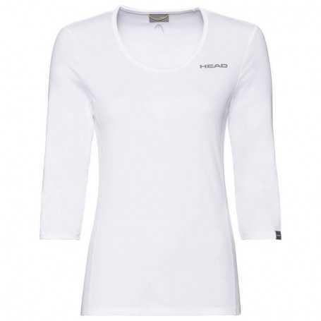 Head Club Tech 3/4 Shirt Damen weiss