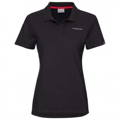 Head Club Mary Polo Shirt Damen schwarz