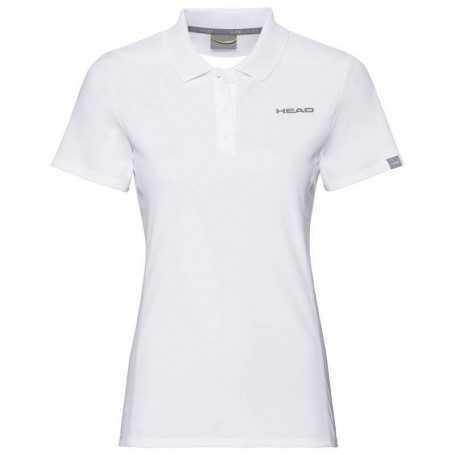 Head Club Tech Polo Shirt Damen weiss