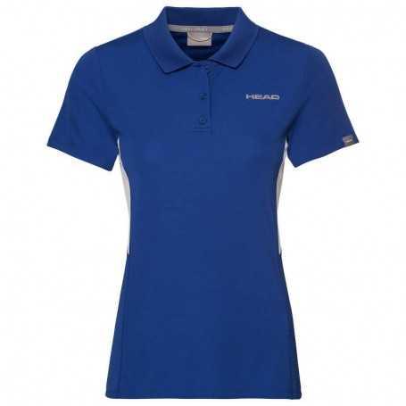 Head Club Tech Polo Shirt Damen royal