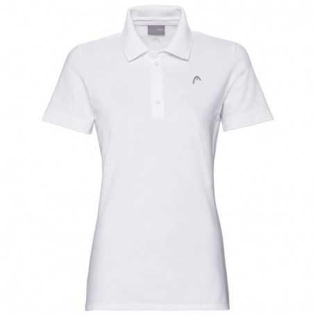 Head Club Polo Shirt Damen weiss