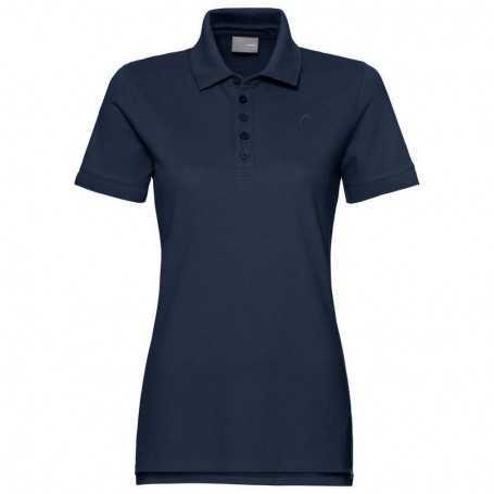 Head Club Polo Shirt Damen dunkelblau